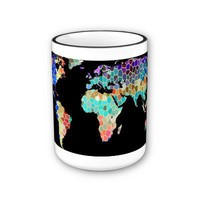 Welcome to my Colorful World Coffee Mugs from Zazzle.com
