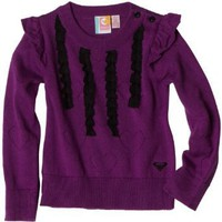 Roxy Kids Girls 2-6x Teenie Wahine Super Cool Crewneck Sweater