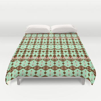 Oasis #4 Duvet Cover by Ornaart