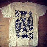 King of Bones on Natural size M by billythesquidltd on Etsy