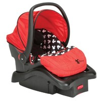 Disney Baby Mickey Mouse Light N Comfy Luxe Infant Car Seat, Mickey Silhouette