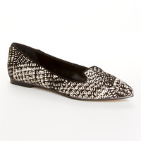 Dolce Vita Brigid Tweed Calf Hair Flats Shoes BRIGID T at BareNecessities.com