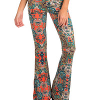LET'S GET GROOVY FLARE PANTS