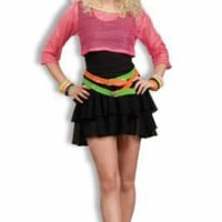 Women&#x27;s 80&#x27;s Groupie Costume