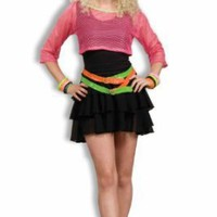 Women's 80's Groupie Costume