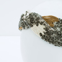 Metal turban headband