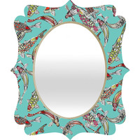 Sharon Turner Lucky Koi Quatrefoil Mirror