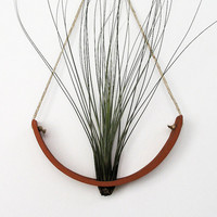 NEW Hanging Air Plant Cradle tm  Natural TerraCotta by mudpuppy
