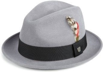 Brixton Men`s Jones Fedora Hat