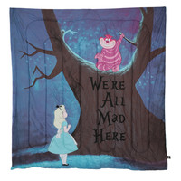 Disney Alice In Wonderland We're All Mad Here Full Comforter