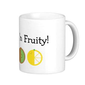 Fresh 'n Fruity 11 oz. White Classic Mug