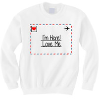 I'm here! Love me! - Hipster Tops
