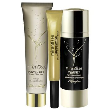 *SP VIPS save A$173.46 - Power Lift Wrinkle Zero Night Serum Trio - Mirenesse