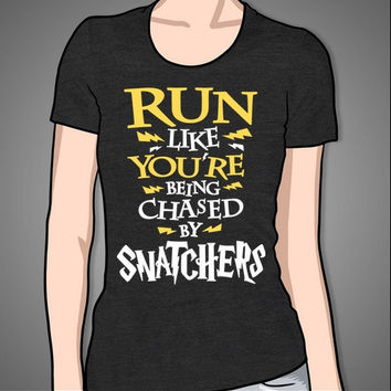 Run Like You're Being Chased By Snatchers (color)