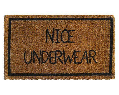 NICE UNDERWEAR MAT