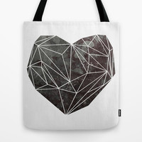 Heart Graphic 4 Tote Bag by Mareike Böhmer Graphics