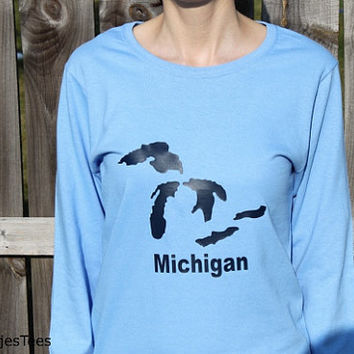 Great Lakes Michigan Shirt