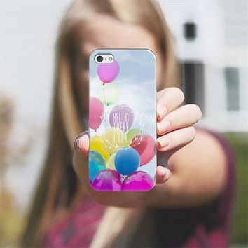 hello life iPhone 5 case by Sylvia Cook | Casetify