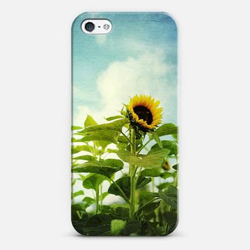 sunflower field iPhone 5 case by Sylvia Cook | Casetify