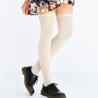 Open-Stitch Thigh-High Tight - Urban Outfitters