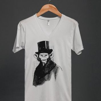 Vintage Sir Monkey T Shirt - Many colors and styles to choose from.