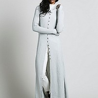 Intimately Womens Sunday Kind of Love Robe - Grey,