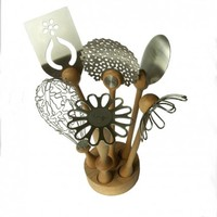 Wild Flower Utensil Set from bojje | Made By bojje | £119.85 | BOUF