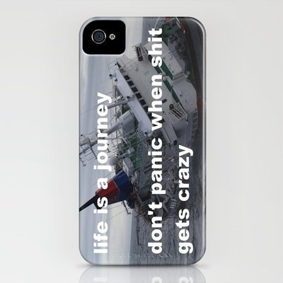 life is a journey iPhone Case by Romi Vega | Society6