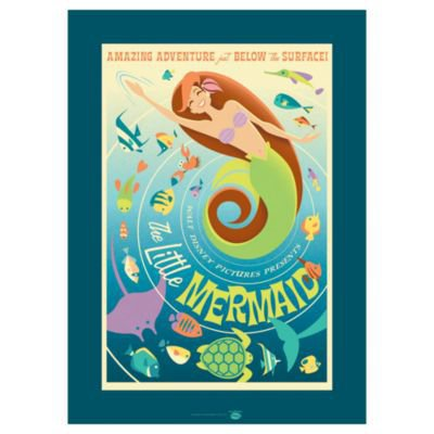 ''The Little Mermaid'' Ariel Giclée | Giclees | Disney Store