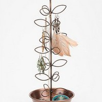 UrbanOutfitters.com &gt; Copper Leaf Jewelry Stand