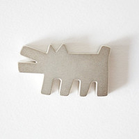 Keith Haring Barking Dog Magnet