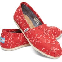 RED CHEMICAL STRUCTURE WOMEN'S CLASSICS