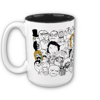 All the Rage Faces Meme Mug from Zazzle.com