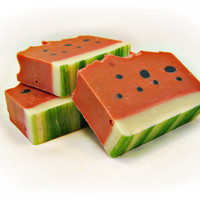Watermelon Handmade Soap with Shea Butter