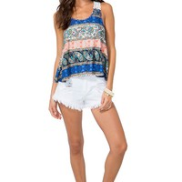 Sally Tribal Tank