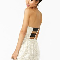 Eve Lace Dress in  What's New at Nasty Gal