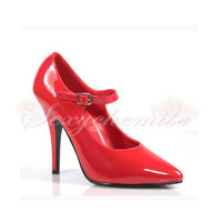Elegant Patent Leather Pointed Toe High Heels Pumps [TQL120321118] - £47.59 :