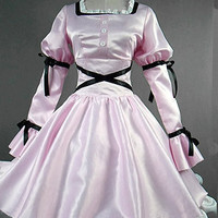 Mirai Nikki Uryuu Minene Pink Long Cosplay Lolita Dress [TQL120312030] - $85.99 : Cosplay, Cosplay Costumes, Lolita Dress, Sweet Lolita