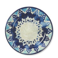 Byzantine Melamine Dinner Plates, Set of 4