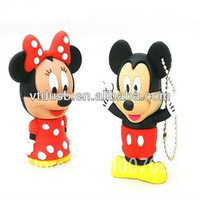 Source PVC mickey mouse usb flash disk Cartoon usb drives Micky mouse usb drive pens for disney pens on m.alibaba.com