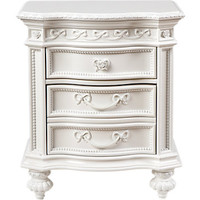 Disney Princess White Nightstand