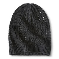 Xhilaration® Beanie Hat - Black