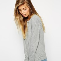 ASOS Long Sleeve Top with Crew Neck