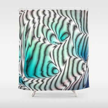 Coral Reef Shower Curtain by Alice Gosling | Society6