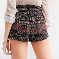 Ecote Chenille Jacquard Pin-Up Short - Urban Outfitters