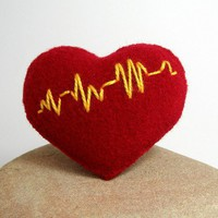 Pulse Rate Heart by BalticCustoms on Etsy