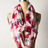 Tulip Kiss Infinity Scarf by Anthropologie Medium Pink One Size Scarves