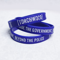 Torchwood jelly bracelet