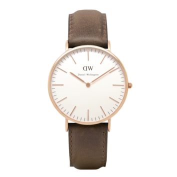 Daniel Wellington Watch - Classic Cardiff Men - Rose Gold