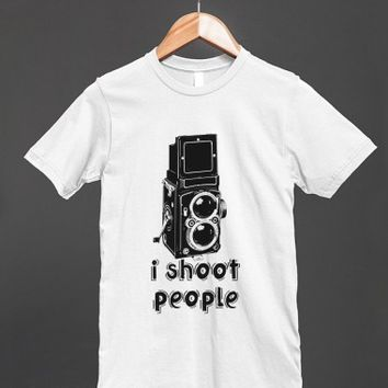 I Shoot People - Twin Lens Reflex Camera T Shirt - Many styles and colors to choose from